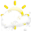 Forecast:  Increasing clouds and warmer. Precipitation possible within 12 to 24 hours Windy.